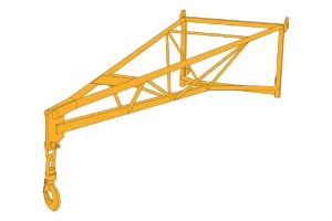 JCB Extension Jib Lifting Equipment Malaysia